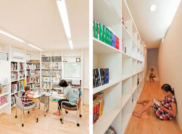 Nakameguro House by LEVEL Architects 6 Magnificent Childhood Inspired Residence: the Slide by LEVEL Architects