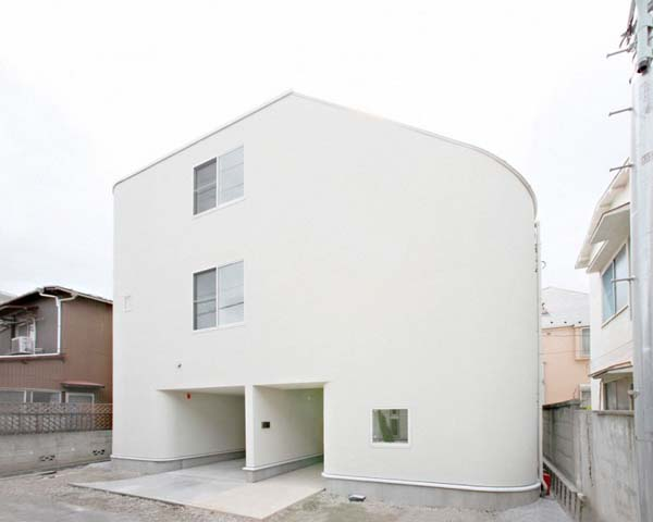 Nakameguro House by LEVEL Architects Magnificent Childhood Inspired Residence: the Slide by LEVEL Architects