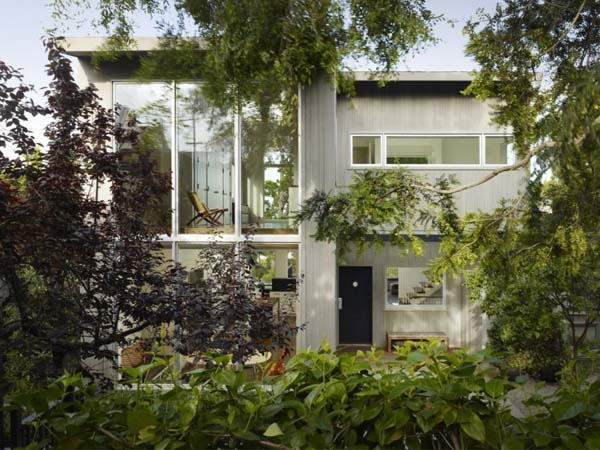 Potrero House by Cary Bernstein Reclaimed Beauty Combined with Modern Architecture: Potrero House