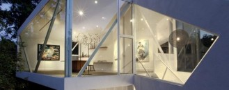 Sustainable and Visually Captivating Residential Addition: The Sapphire Gallery