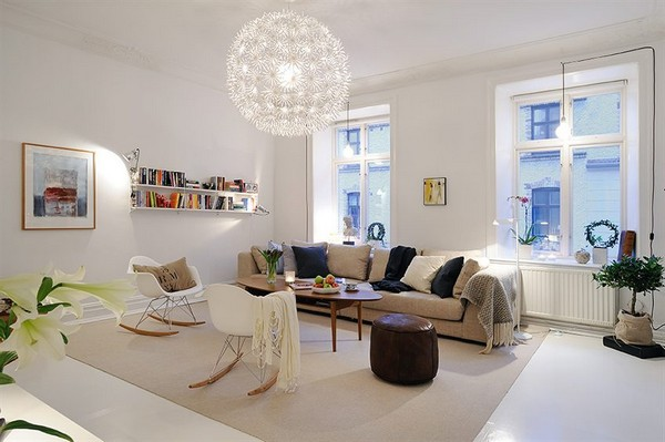 Scandinavian Living Room | 30 Scandinavian Living Room Designs With A Mesmerizing Effect