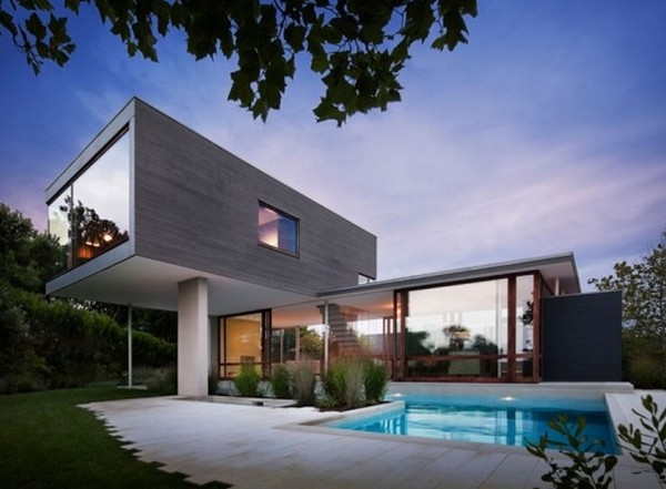 amazing modern villa Freshome 12 Impecable Modern Home Design: Art and Surf Residence in Montauk