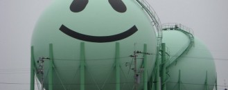 Visual-Friendly Gas Industry: Decorated Tanks in Japan
