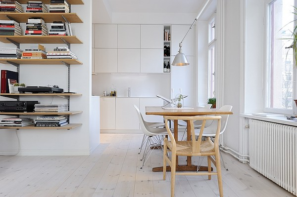 image2 One Room Apartment in Stockholm Showcasing an Ingenious Interior Design