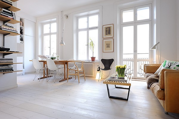 One Room Apartment in Stockholm Showcasing an Ingenious ...