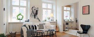mesmerizing scandinavian living room on with later | Wall Sticker Collection Inspired by The Works of Toulouse ...