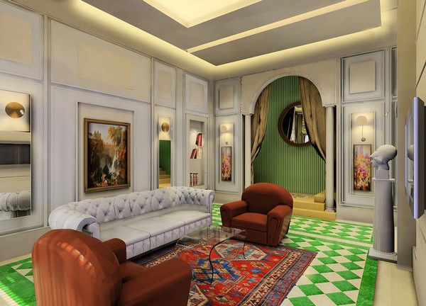 royal mix of traditional styles the kingold demo apartment in chinaroyal mix of traditional styles the kingold demo apartment in china