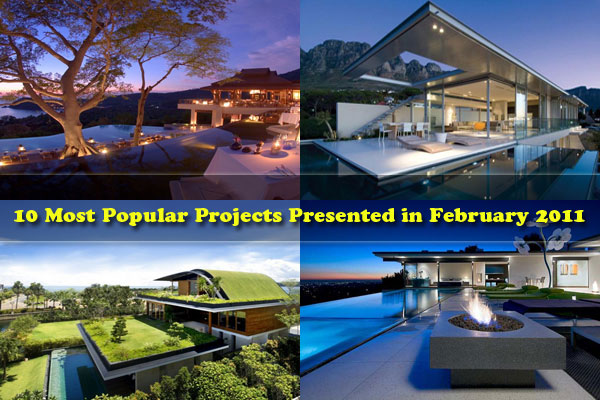 popular projects 10 Most Popular Projects Presented in February 2011