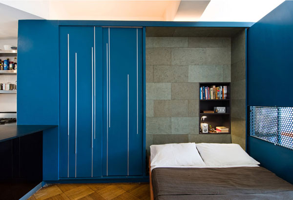 20 Something Manhattan Apartment: Small Manhattan Apartment: Unfolding Apartment By Normal