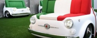 Spectacular Furniture Collection Inspired by Fiat 500