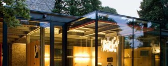 Stunning House with Fully Glazed Steel Frame Structure: the Jodlowa House by PCKO