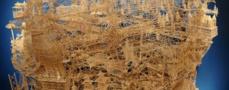 Astonishing Toothpick Sculpture: Rolling through the Bay by Scott Weaver [Video]