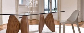 Elegant Addition to the Dining Room: Vanessa Dining Table by Bartoli