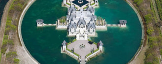 Dreamy Miami Castle Surrounded by a Moat: Architect Charles Sieger's Residence