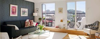 Cosy Attic Apartment Overlooking One of Gothenburg's Parks