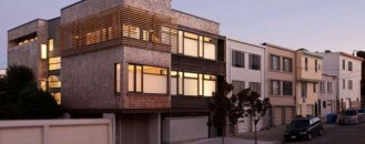 Bright Urban Environment: the Harrison Street Residence by Dawson+Clinton