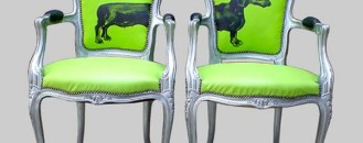 Fresh and Urban One-Off Chairs from Jimmie Martin Ltd