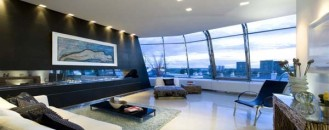 Breathtaking Penthouse Apartment Built on Top of Two Buildings