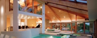 Two Generous Pools and Inspiring Design Details: Lookout House