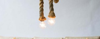 Fresh Handmade Alternative to Every Day Lights: The Manila Rope Lights