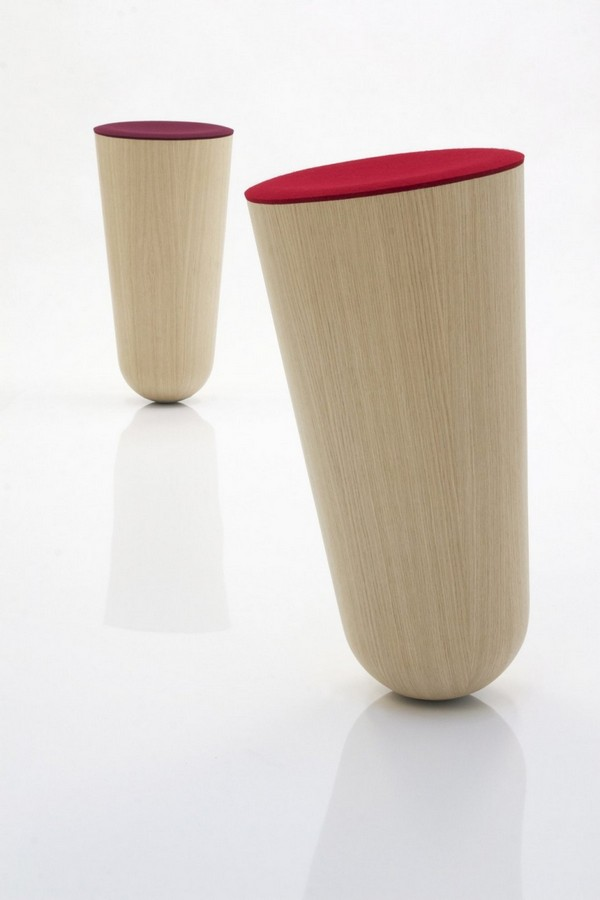 Witty And Playful Quot Out Of Balance Quot Stools By Thorsten