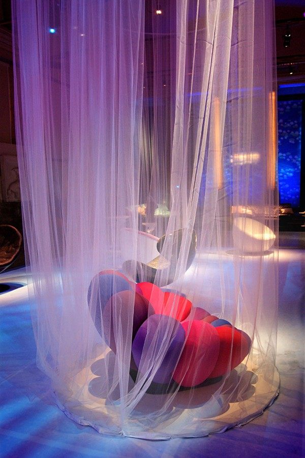 Vivid And Eye Catching Anemone Chair By Giancarlo Zema