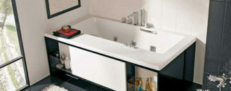 Innovative Bathroom Furniture: Bathtub with Drawers