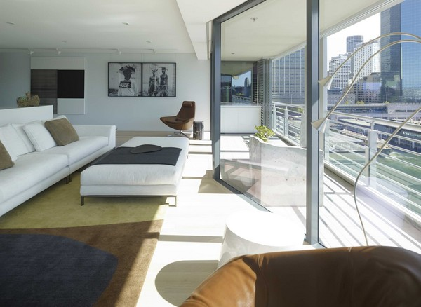 Art Collector S Apartment In Sydney Harbour Australia