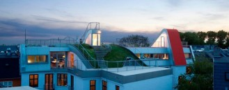 Unique Roof Playground in Copenhagen for Both Children and Adults
