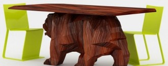 A Creative Furniture Design Concept: Bear Table