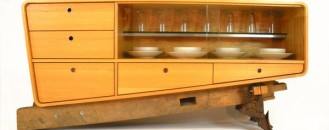 An Unconventional Furniture Piece: Coban Buffet