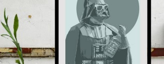 Star Wars Pop Art Prints by Nicholas Hyde