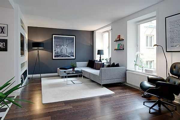 Impressive Modern Arrangements Within a Relatively Small Apartment