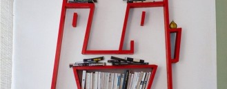 Fun and Creative: Face Shelving by Alexi Mccarthy