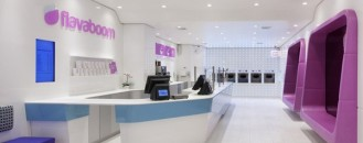 An Original Frozen Yogurt Shop in Manhattan: Flavaboom