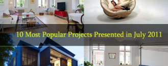 10 Most Popular Projects Presented in July 2011