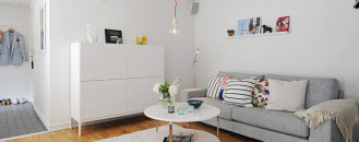 Bright Urban Swedish Two-Storey Apartment in Gothenburg
