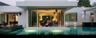 Stylish and Modern: Dinesh Mills Bungalow by atelier dnD