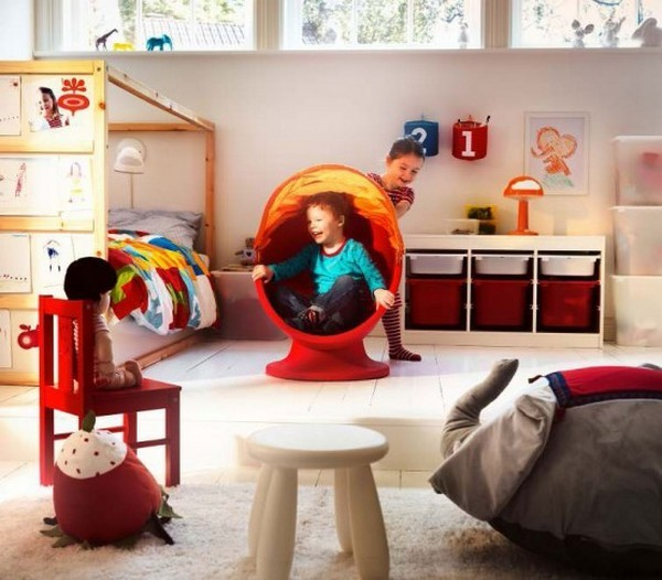 Ikea Kids Room Inspiration: Best IKEA Children's Room Design Ideas For 2012