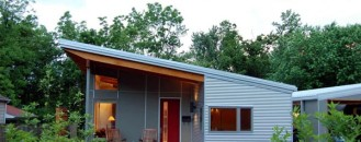 Environmentally Friendly Residence in Fayetteville's Historic District