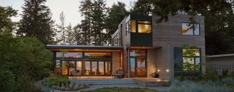 Sustainable Home With Lovely Design Features Near Seattle