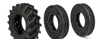 Creative Hand-Carved Car Tyres by Studio Wim Delvoye
