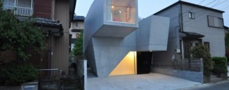 Modern Japanese Home With A Fascinating Architecture Geometry