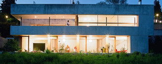 Modern Minimal Concrete House Near Zurich: Moinian And Meili Residence