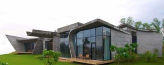 Complex Indian Residence: Rishikesh House by Rajiv Saini