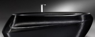Carbon Fiber Bathtub For The Strong-Hearted by Corcel