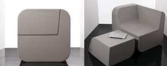 Versatile Furniture: Dual Cut by Kitmen Keung