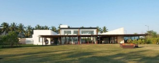 Intriguing Modern Crib in India: Khadakvasla House