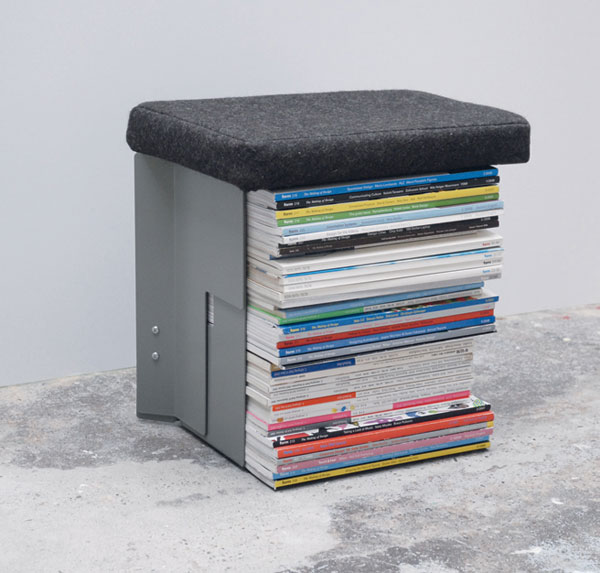 Stool, Side Table or Magazine Rack – Christian Lessing's Collecteur
