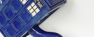 Doctor Who TARDIS Teapot by Rebekka Ferbrache